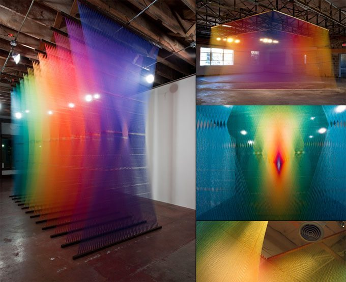 Gabriel Dawe - Installation Artist - The Cool Hunter - The Cool Hunter