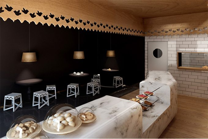 Exceptional The Third Store Of Madrid Based Bakery Pany Y Pasteles Looks Very Different  From The First Two, Although All Were Designed By Local Architectural  Studio ...