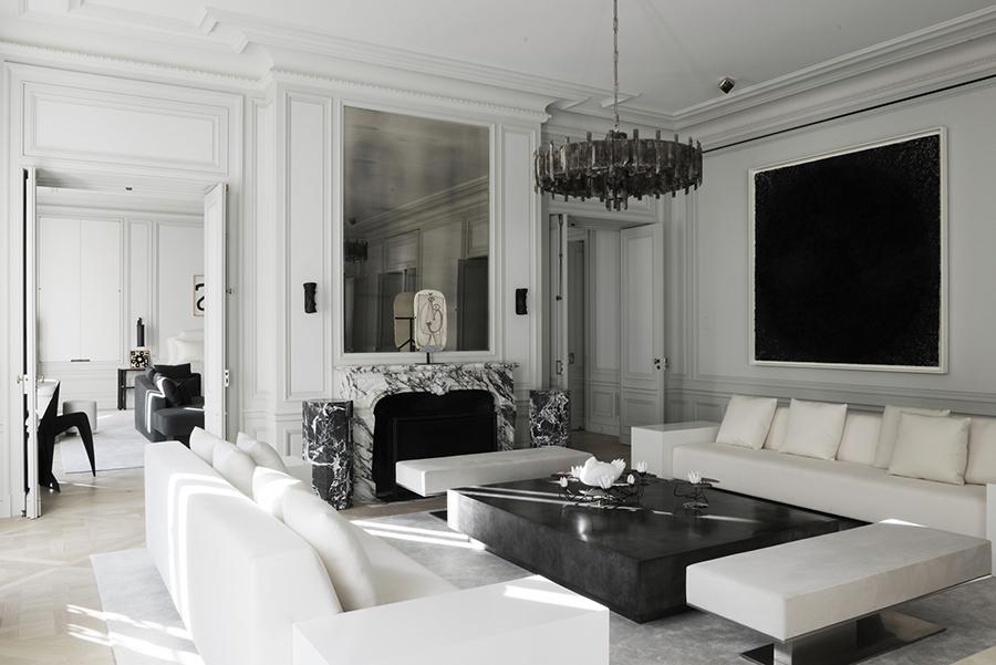Luxury Ideas For Lavish Living Room Style: Avenue Montaigne Apartment By Joseph Dirand