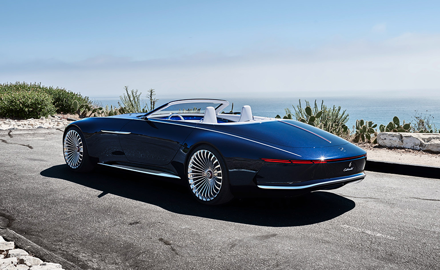 Luxury Car Vision >> Mercedes Maybach Vision 6 Cabriolet Electric Super Luxury Concept
