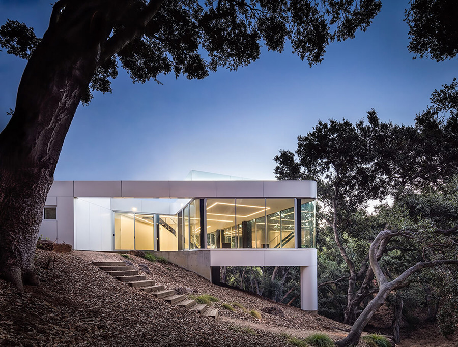 Retro Minimalist house, Cupertino, California