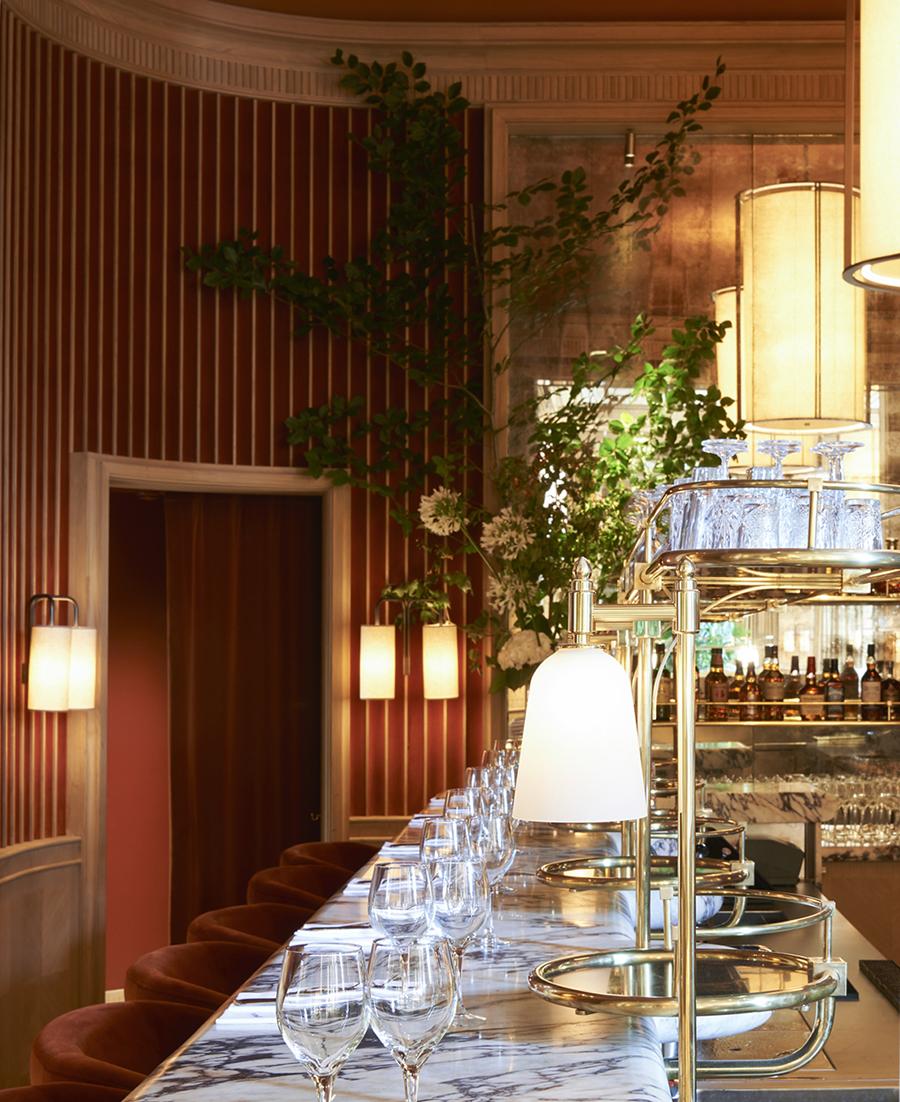 Girafe Restaurant Designed By Joseph Dirand Paris France The Cool Hunter The Cool Hunter
