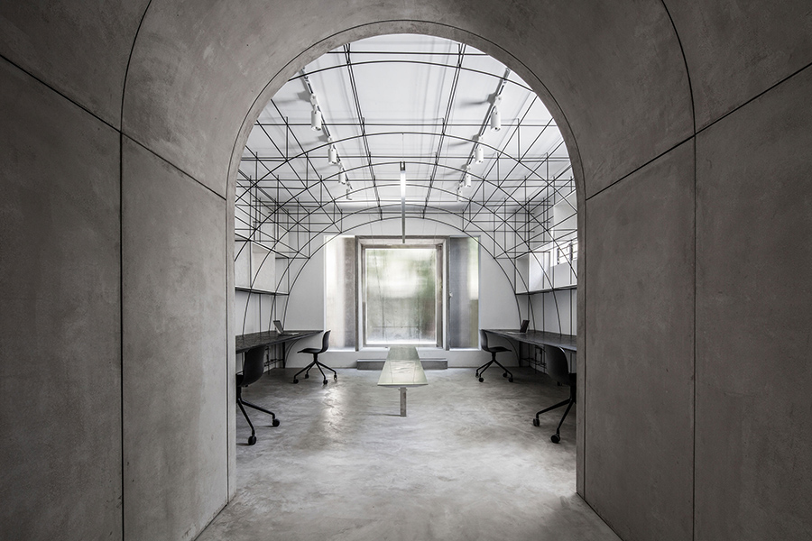 Monoarchi office renovation, Shanghai, China
