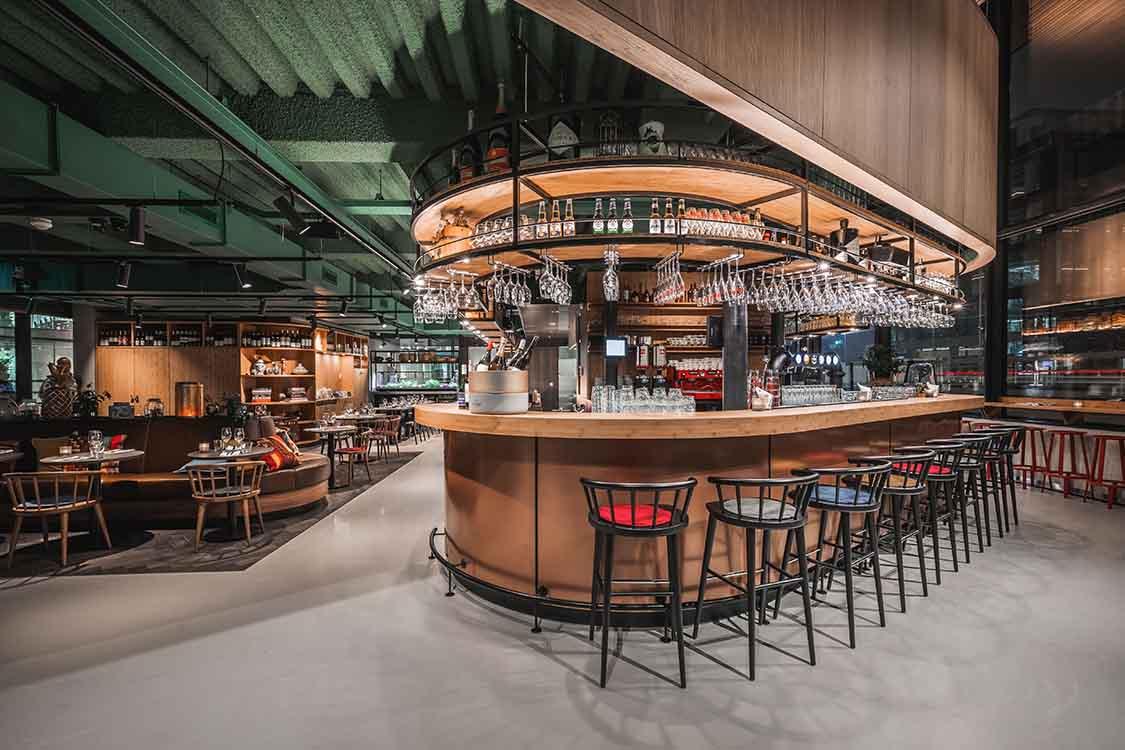 Restaurant Pavilion The Traveller, Amsterdam – The Netherlands