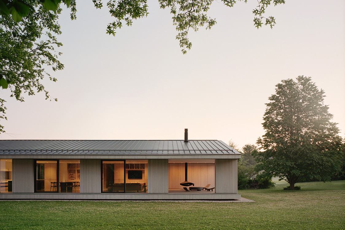 Berkshire Residence by Of Possible Architecture, Sheffield, MA, USA