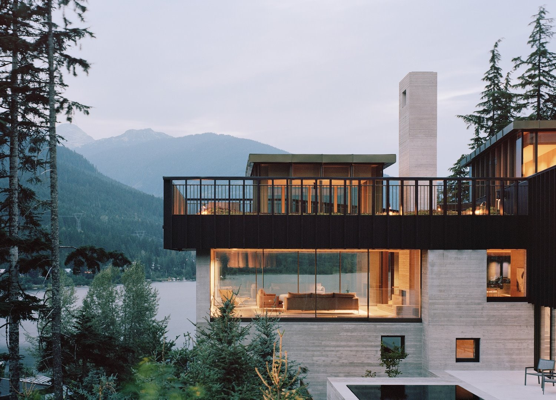 The Rock Residence, Alta Lake, Whistler, British Columbia, Canada