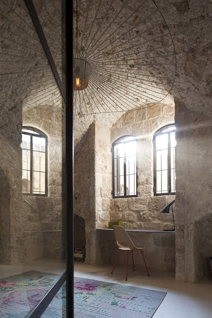 300 Year Old House Renovation In Tel Aviv Israel The Cool Hunter - Interesting-old-house-design