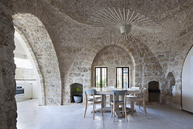 300 Year Old House Renovation In Tel Aviv Israel The Cool Hunter