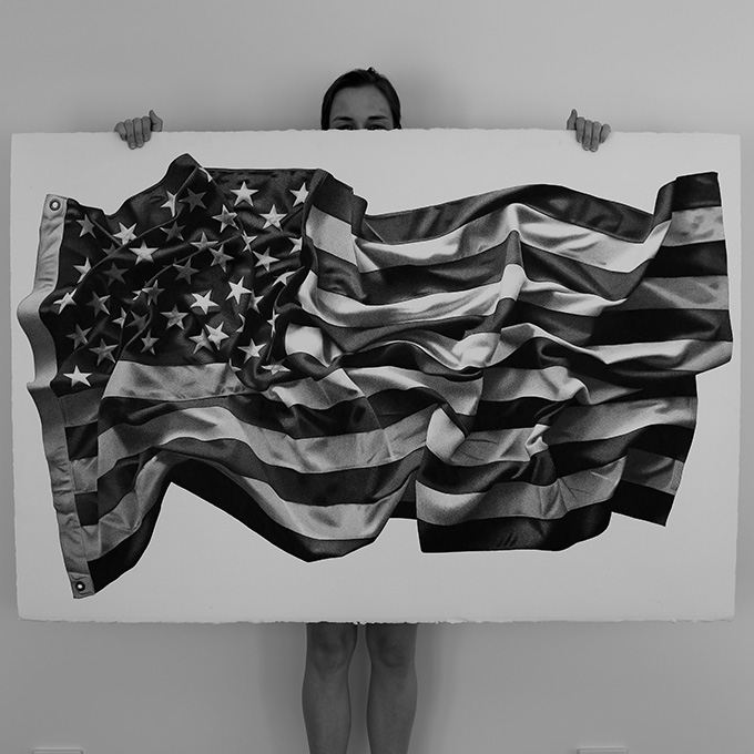 Hand Drawn American Flag By Cj Hendry The Cool Hunter The Cool Hunter