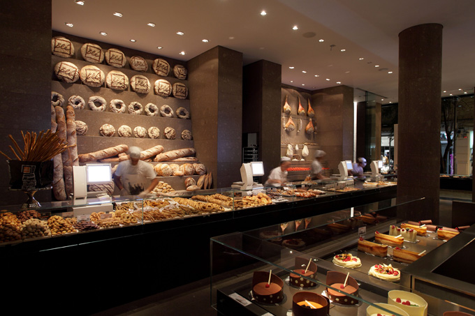 And the bakery is built from cob made of white clay from Crete and Milos,  plus sand and straw. Bl's four floors house a patisserie, bakery, ...
