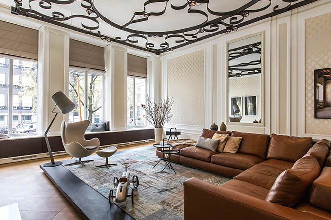 Herengracht canal house amsterdam the cool hunter for Interieur design amsterdam