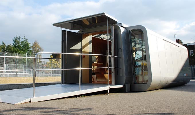 Modular Classroom Relocation ~ Classroom of the future cool hunter