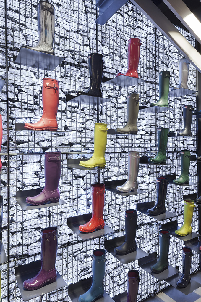 Hunter Boots Flagship Store - London - The Cool Hunter - The Cool Hunter e3c7fd6aa