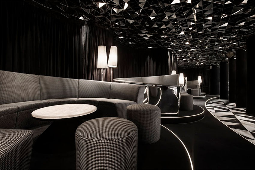 Club mascara sofia bulgaria the cool hunter the cool for Vip room interior design