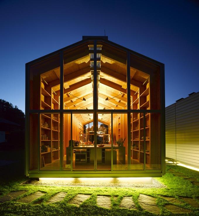 Nobis House Minimalist Boathouse Residence Near Munich Germany