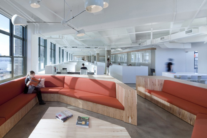 horizon media office.  Media The Colour Palette Of The Space Is Neutral With Accessories Furnishings  And Millwork Providing Splashes Colour Coldness Polished Concrete  Throughout Horizon Media Office D