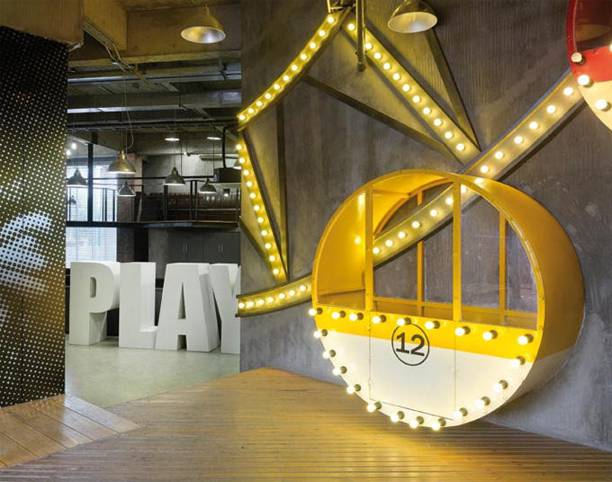 Ogilvy Mather Guangzhou Office A Carnival Of Ideas The