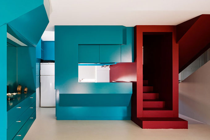 Pedro gadanho family home the cool hunter the cool hunter for Colores nuevos para interiores