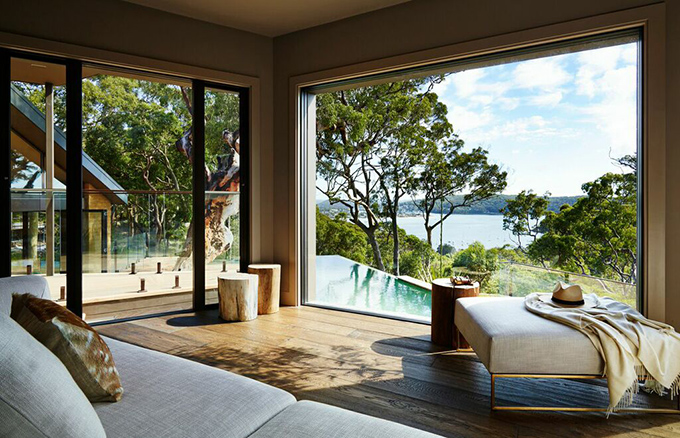 Pretty beach house bouddi peninsula sydney the cool for Beach house designs western australia