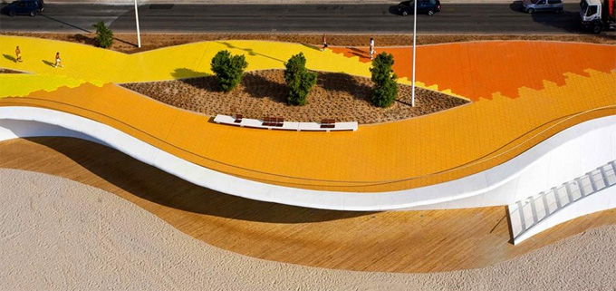 Or The 324 Meter Long Meandering Bench (worldu0027s Longest, Apparently) By Studio  Weave On The Seafront At Littlehampton In The UK. It Is Not Just A Bench,  ...