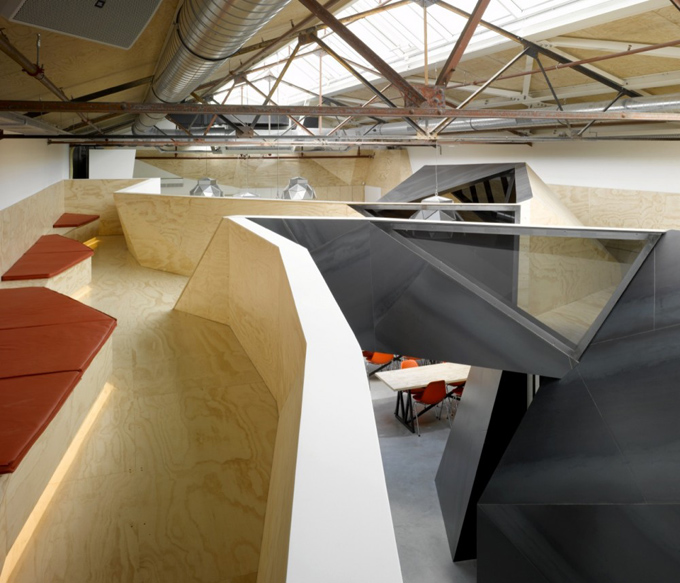 red bull corporate office. Red Bull\u0027s New Headquarters \u2013 Amsterdam Bull Corporate Office