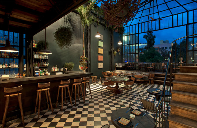 Romita comedor mexico city the cool hunter the cool for Restaurant los azulejos df