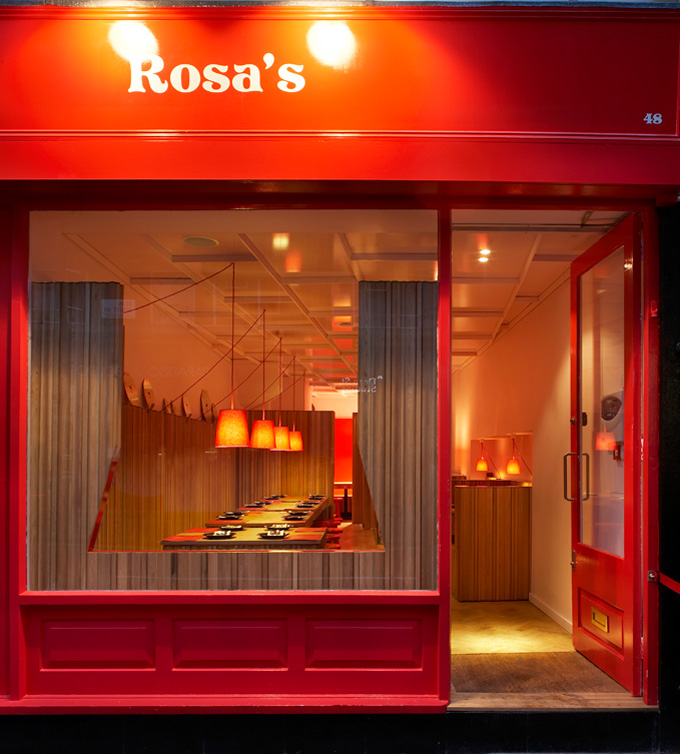 Rosa\'s Soho, London - The Cool Hunter - The Cool Hunter