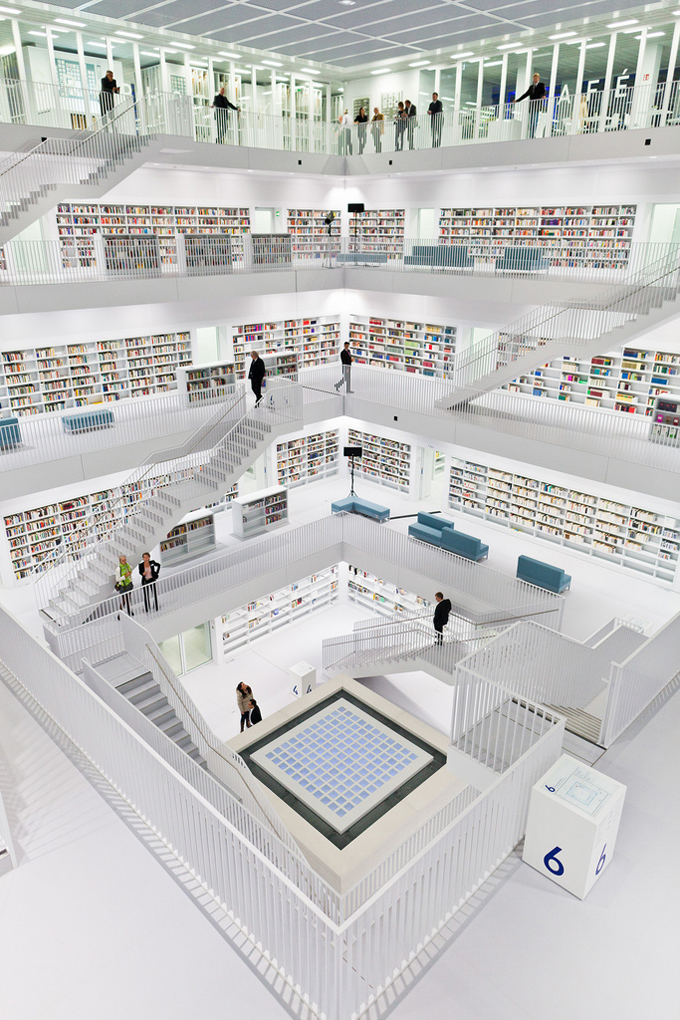 The new stuttgart city library germany
