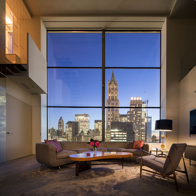 Apartments In Newyork: TriBeCa Penthouse